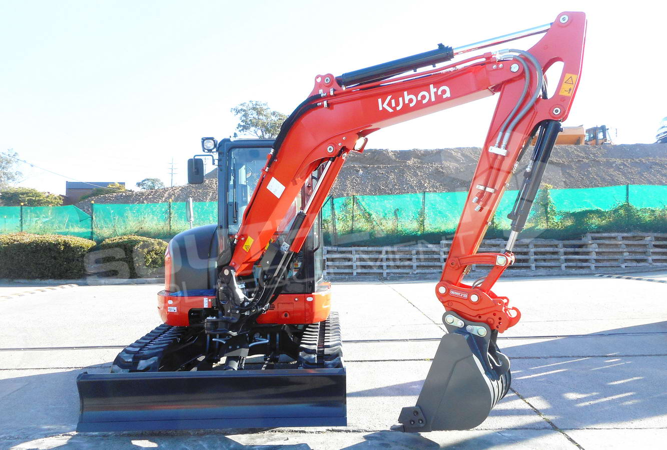 #2293 Brand New Kubota KX57 full