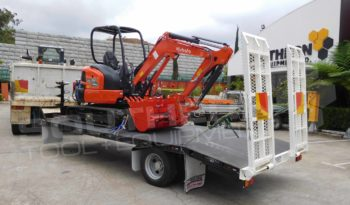 #2142D Kubota U35 + 9T Trailer full
