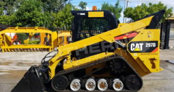 #2302 Caterpillar 297D XPS High Flow Skid Steer