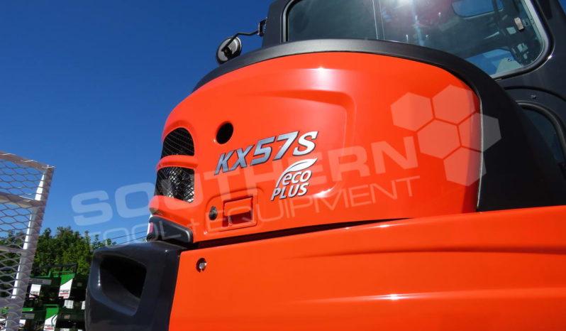 #2290C Kubota KX57 + 9 Ton Trailer full