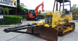 #2304R Komatsu D21A-7E Bulldozer with Tree Pusher